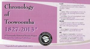 Chronology-of-Toowoomba